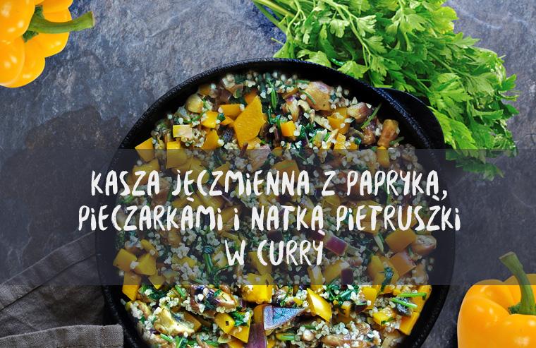 kasza_jeczmienna_z_papryka_pieczarkami_w_curry